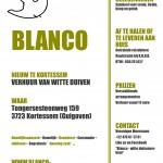 BLANCO-witte duivenverhuur