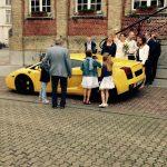 Sportwagen huren huwelijk