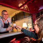 Mobiele Cavabar - Mobiele Champagnebar trouwfeest